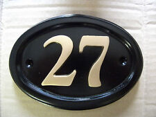 HOUSE DOOR NUMBER PLAQUE SIGN PLATE