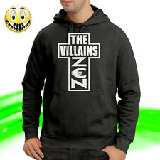 THE VILLAINS ZEN Guè Pequeno Club Dogo Sai Zio Ganja hip hop rap T-shirt felpa
