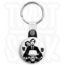 Quadrophenia The Who Lambretta - 25mm Keyring Button Badge with Zip Pull Option