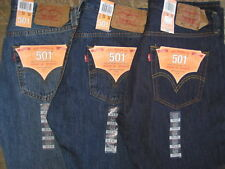 Levis Men's 501 Original Fit Jeans 3 Colors Authentic $19 International Shipping