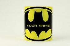 Batman personalised with any name mugs popular gift cup coffee tea mugs new