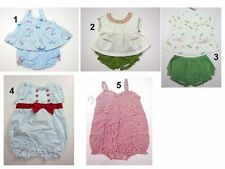 NWT Gymboree Infant Baby Girls 1-2 pc Tops Bloomers Romper Outfit Set Sz:0-3 Mon