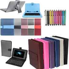 "PU LEATHER KEYBOARD CASE FOR ARGOS BUSH MYTABLET2 8"" ANDROID TABLET"