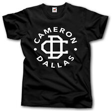 CAMERON DALLAS SHIRT S-XXXL YOUTUBE VINE STAR TUMBLR HIPSTER MUSIC FUNNY DOPE