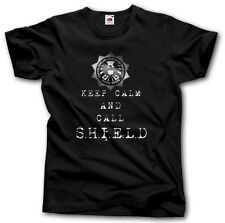KEEP CALM AND CALL AGENTS OF S.H.I.E.L.D. SHIRT S - XXXL SHIELD COULSON TV