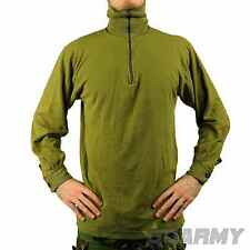 British Army Cotton Norgie Top with Zip