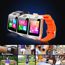 "1.5""Gv08 Smart Watch Andriod Phone W Camera Touch Screen Bluetooth Sync Call SMS"