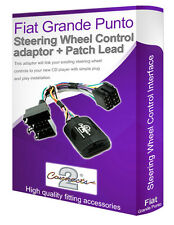 Fiat Grande Punto car radio adapter, Connect your Steering Wheel stalk controls