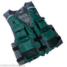 MTI Fisher Polyester Shell Vest -  Reinforced Drainage Hole, Reflective Trim