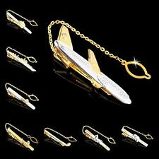 Buy 6 Get 1 Free Personalized Novelty Shirt Gold Silver Men's Tie Clip Bar Clasp