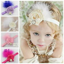 Kids Baby Girls Headband Head Band Hair Accessories Flower for Party Photo