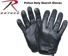 Black Military Tactical & Law Enforcement  Police Duty Search Gloves 3450