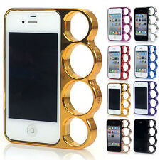 CHEAP New Ring Knuckles Strong Bumper Side Rim Case Cover For Apple iPhone 4/4S