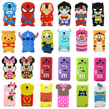 Disney Cartoon 3D Animals Silicone Case Cover for Samsung Galaxy S5 i9600 S V a2