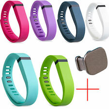 NEW Replacement Wristband & Clasp For Fitbit Flex SMALL & LARGE Bands + Clasp