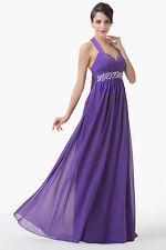Cyber Monday Formal Bridal Gown Evening Prom LONG WEDDING Party Cocktail Dresses