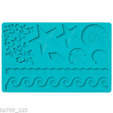 Wilton Sea Life Design Cake Decorating Cupcake Fondant & Gum Paste Mould Mold