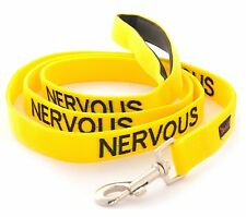 Relax Walk NERVOUS Dog Lead Safety Prevention Also Matching Yellow Collar
