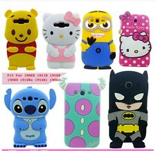 Cute mickey Mouse Silicone Case Cover For Samsung Galaxy Grand Duos i9082 i9080