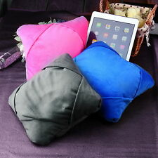 Multifunctional Travel Neck Pillow Tablet Stand For iPad MINI Laptop Computer
