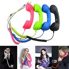 Retro Funny Portable Earphone For Iphone4/4s/5/5s PC Mobilephone 3.5mm Plug