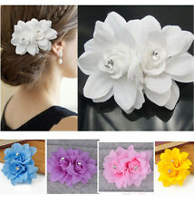 Hair Flower Clip Pin Bridal Wedding Prom Party for Girl Women chic