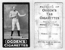 OGDENS TABS (Heroes of the Ring) 1901 #1 to #17 Boxing Cigarette Cards
