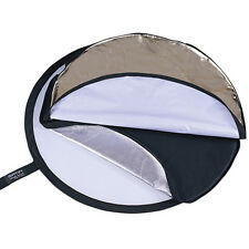 5-IN-1 Matin COLLAPSIBLE REFLECTOR One Touch Folding/Unfolding 5 Effects Kit u