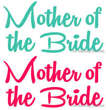 MOTHER OF THE BRIDE iron on wedding transfer, hens night dress up costume outfit
