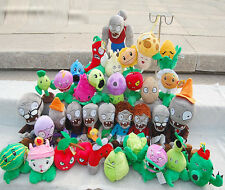 PLANTS vs. ZOMBIES Soft Plush Dolls Teddy Stuffed Toy Kids Baby XMAS Gifts