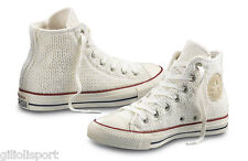 CONVERSE ALL STAR HI WOOL WINTER Scarpe Sneakers 545061C WHITE