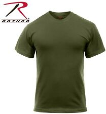 Olive Drab Green Tactical Military Police Short Sleeve Polly/Cotton T-Shirt 6979