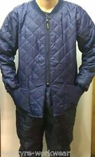 MEN WARM JACKET ,THERMAL,WINTER WORKWEAR JACKET QUILTED COVERALL BIB AND BRACE