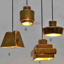 Retro Tom Dixon Casual Pendant Lamp Loft 2 RH Ceiling Light Lighting Chandelier