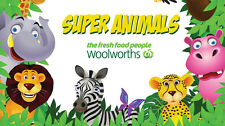 Woolworths Super Animal Cards - Blue (cards 1-72)
