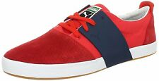 Puma Men's EL Ace Mixed Sneakers Shoes-Red/New Navy