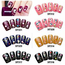 3D Nail Art  Stickers Decals Tips Charming DIY Decoration Hello Kitty 10 Choices