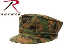 Woodland Digital Camouflage Military Style USMC 8 Point Fatigue Hat Cap 5663