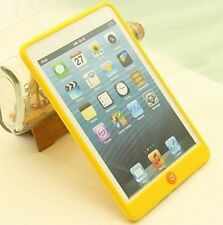 For iPad Mini 1 2 3 Case Soft Gel Rubber Silicone Back Skin Cover Shell
