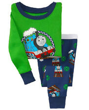 Thomas Train Cotton Sleepwear Pajama Sets for Baby Toddler Kids Boys Size 1T~6T