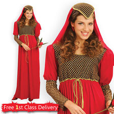 Medieval Ladies Fancy Dress Maiden Juliet Renaissance Costume Book Week New