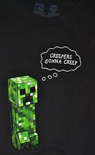 Mojang Minecraft Mine Craft CREEPER Adult T-Shirt Officially Licensed Jinx Tee