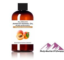 100% PURE ORGANIC APRICOT KERNEL OIL COLD PRESSED 1 2 4 6 8 16 32 oz COOKING