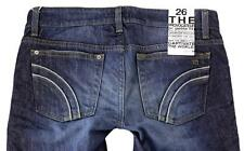 "NEW JOE'S ""THE PROVOCATEUR"" WOMEN'S BOOT CUT PETITE JEANS BLUE EHSA5805 SIZE 31"