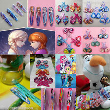 HOT Wholesales Hair Accessories Frozen/My little Pony Girls GIFT Cute Hair Clips