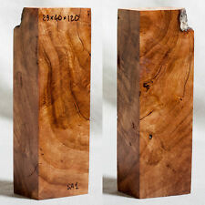 Stabilized Spalted Apricot Wood Woodturning knife scales blocks