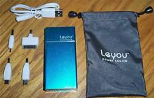 Leyou 6000mAh Universal Power Storage Bank for Cell Phones Tablets MP3/4 Players