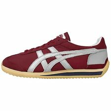 Asics Onitsuka Tiger California 78 VIN Red Silver Vintage Running Casual Shoes
