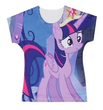 My Little Pony Twilight Sparkle Baby Kids Girl T-shirt Tops 3-10Y #T006