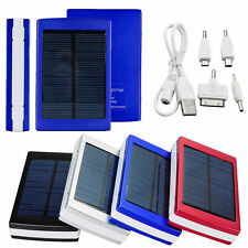 30000mAh Dual USB Portable Solar Panel Battery Charger Power Bank for iPhone 6